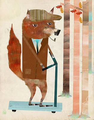 The Eccentric Mr Fox Poster
