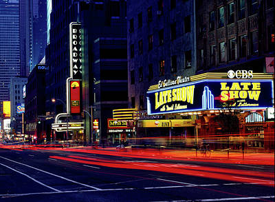The Ed Sullivan Theatre - N Y C Poster by Mountain Dreams