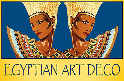 The Egyptian Twins Poster by Tara Hutton