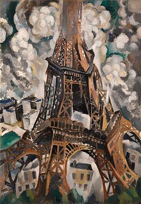 The Eiffel Tower Poster by Mountain Dreams