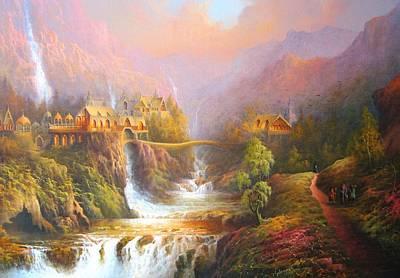 The Elves Kingdom Poster