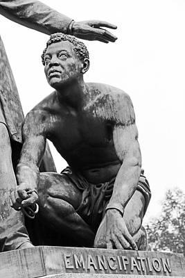 The Emancipated Slave At The Emancipation Memorial -- 2 Poster