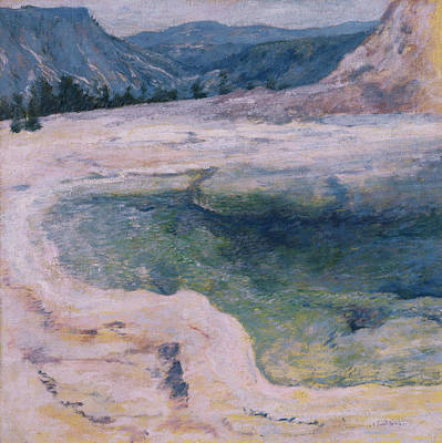 The Emerald Pool Poster by John Henry Twachtman