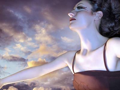 The Empath - Self Portrait Poster by Jaeda DeWalt
