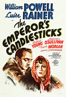 The Emperor's Candlesticks 1937 Poster by M G M