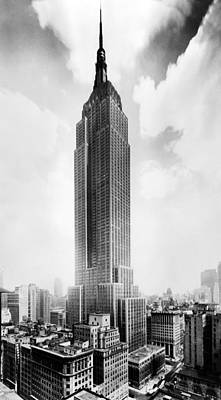 The Empire State Building, New York Poster by Everett