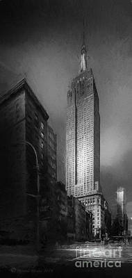 Poster featuring the photograph The Empire State Ch by Marvin Spates