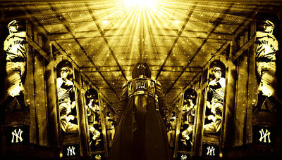 The Empire Strikes Back New York Yankees Edition II Poster