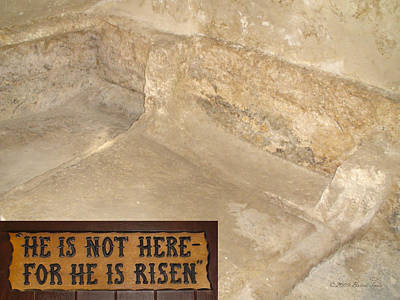 The Empty Tomb Poster by Brian Tada