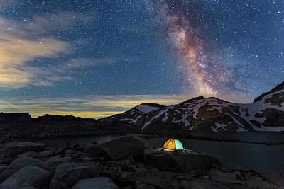 Mountain Trekking Poster