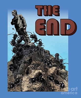 The End Poster by Joseph Juvenal