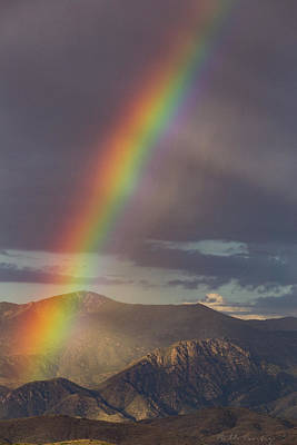 The End Of The Rainbow Is The Southwest Poster by Bill Cantey