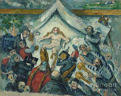 The Eternal Feminine By Paul Cezanne  Poster