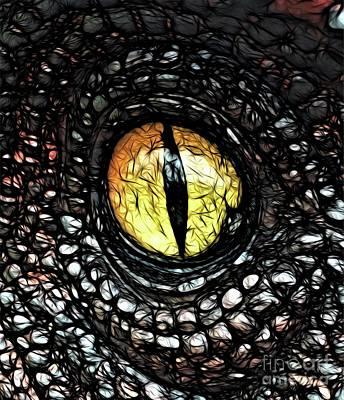The Evil Eye By Raphael Terra Poster