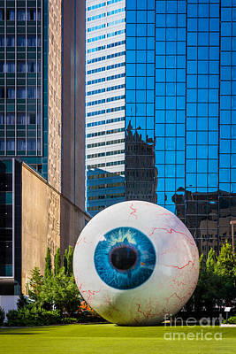 The Eye Poster by Inge Johnsson