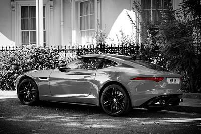 The F-type Jaguar Poster by Mark Rogan