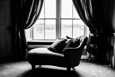 The Fainting Couch - Bw Poster