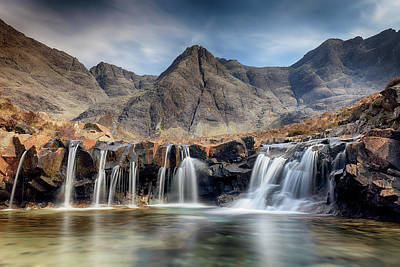 Poster featuring the photograph The Fairy Pools - Isle Of Skye 3 by Grant Glendinning