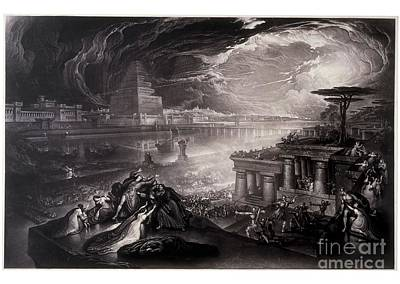 The Fall Of Babylon Poster by MotionAge Designs