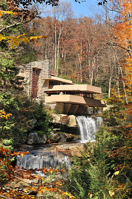 The Fallingwater Poster by Edwin Verin