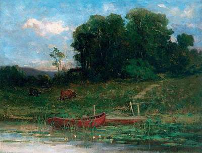 The Farm Landing Poster by Edward Mitchell Bannister