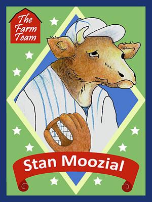 The Farm Team - Stan Moozial Poster