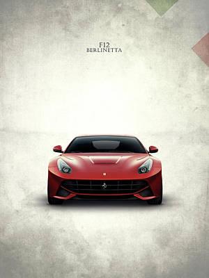 The Ferrari F12 Poster