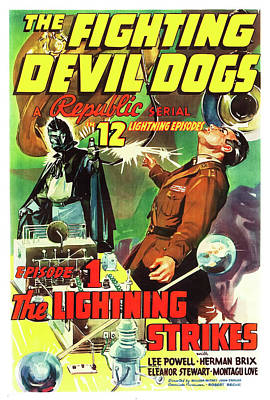 The Fighting Devil Dogs 1938 Poster by Mountain Dreams