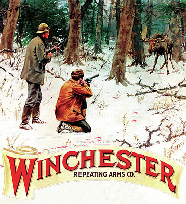 Poster featuring the painting The Finishing Shot by A B Frost