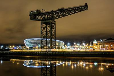 The Finnieston Crane Glasgow Poster by Buster Brown