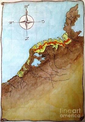 The First Frisians Poster by Annemeet Hasidi- van der Leij