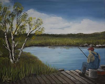 The Fishermen Poster by John Reid