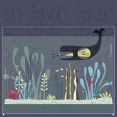 The Fishtank Poster by Nic Squirrell