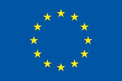 The Flag Of The European Union Poster
