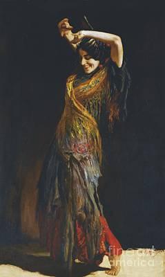 The Flamenco Dancer Poster