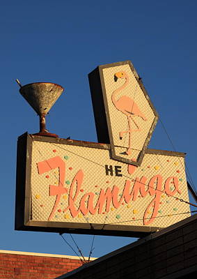 The Flamingo Poster