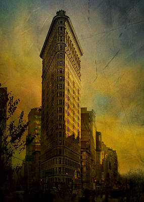 The Flat Iron Building - My Take On It Poster by Jeff Burgess