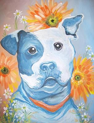The Flower Pitt Poster by Leslie Manley