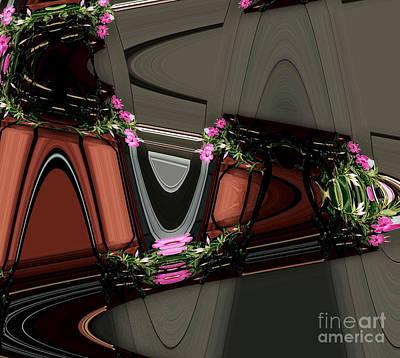 The Flower Train Poster by Marsha Heiken