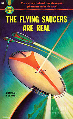 The Flying Saucers Are Real Poster