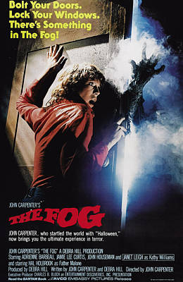 The Fog, Jamie Lee Curtis, 1980 Poster by Everett