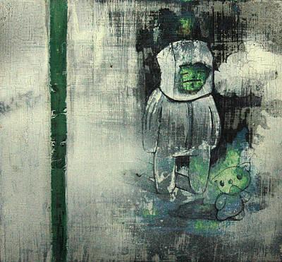 The Fog Poster by Konrad Geel