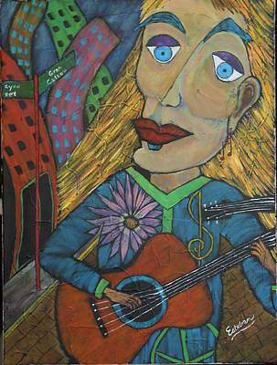 The Folk Singer Poster