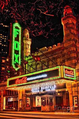 The Fox Theater Atlanta Ga. Poster by Corky Willis Atlanta Photography