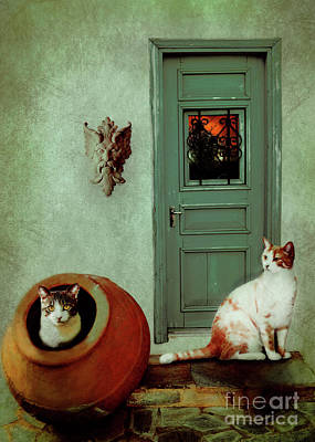 The Front Porch Poster by KaFra Art