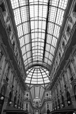 The Galleria Poster by Valentino Visentini