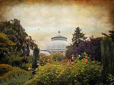 The Garden Conservatory Poster by Jessica Jenney