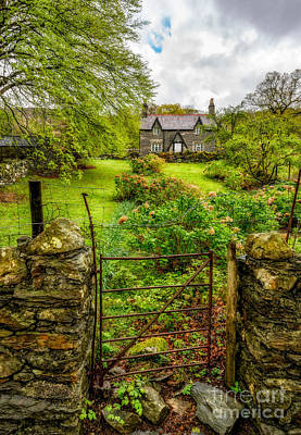 The Garden Gate Poster by Adrian Evans