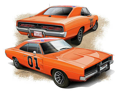 The General Lee Poster