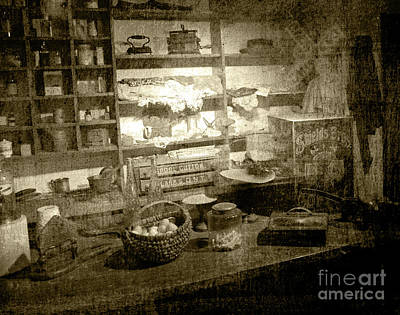 Poster featuring the photograph The General Store by Pete Hellmann
